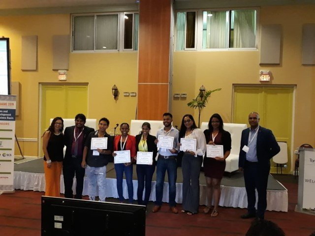Event volunteers receive recognition from region leaders